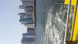 View of Manhattan from the boat part of the tour. , Linda L - September 2015