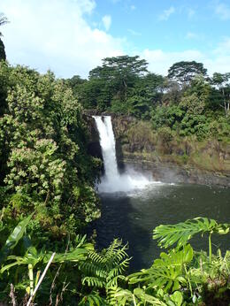 This waterfall was in easy walking distance from the bus. , Andrea S - January 2013