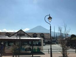 Mt. Fuji view from the bus , Rissa - November 2016
