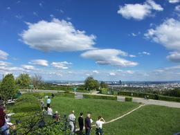 View of Vienna city from Vienna Woods/Grinzing heights , ekestler - May 2017