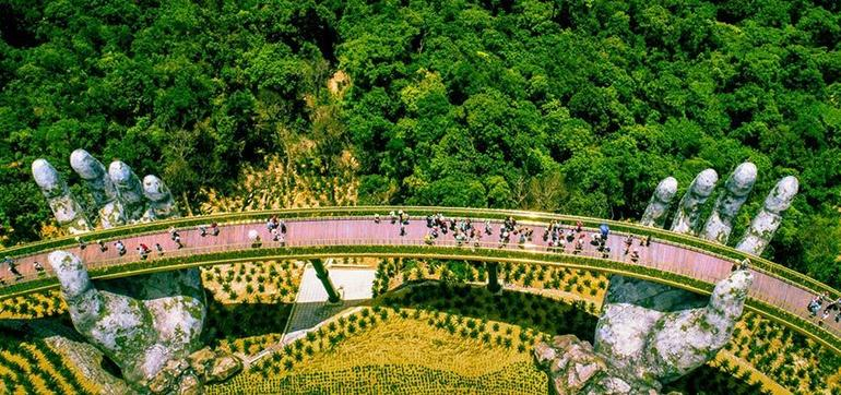 Private Golden Bridge & Ba Na Hills Full Day Trip From Danang City photo 59