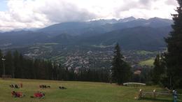 Día de relax contemplando la ciudad de Zacopane desde la montaña del funicular. , JOSE P - August 2014