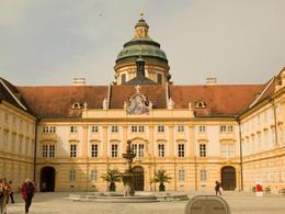 Through the main gate at Melk Abbey , Nigel J L B - April 2014