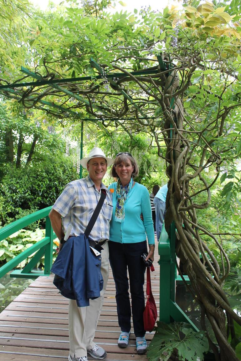 On the Japanese bridge - Paris