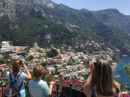 Overlooking Positano , Eduardo C - July 2016