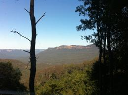 Overlooking the Blue Mountains, Kierra - October 2014