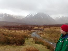 Scotland: On the way to Glencoe , Sophia L - April 2015