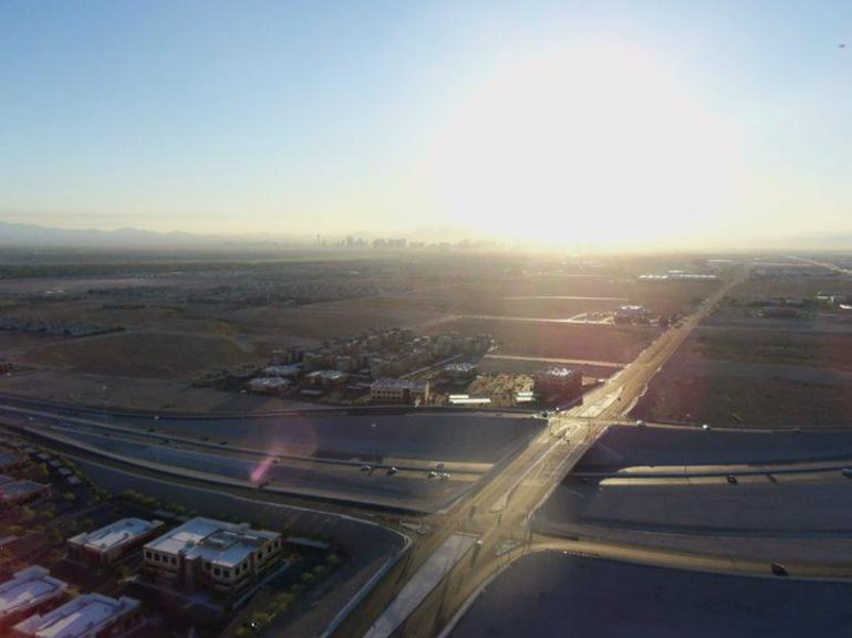 Sunrise over the Las Vegas Valley - Las Vegas