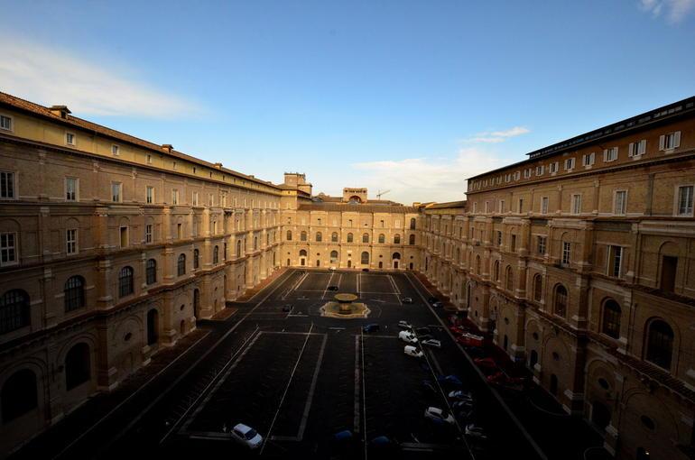 The Interior Square - Vatican - Rome