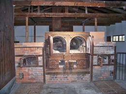 These were the original ovens in the smaller building. They outgrew these and added a larger building with four ovens., Juanita E - November 2009