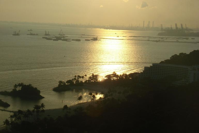 View at Sunset from the Sky Tower - Singapore