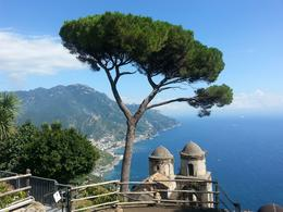 Awesome view at our last stop in Ravello! , Roger H - September 2014