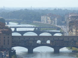 Piazzale Michelangelo gives beautiful views like this. , Angelica F - August 2015