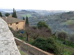 Vue depuis San Gimignano, en fin de journée , Jean Luc C - January 2015