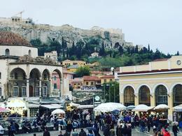 Monastiraki Square at peak Flea Market time... Best time ever , CATARINO C - November 2017