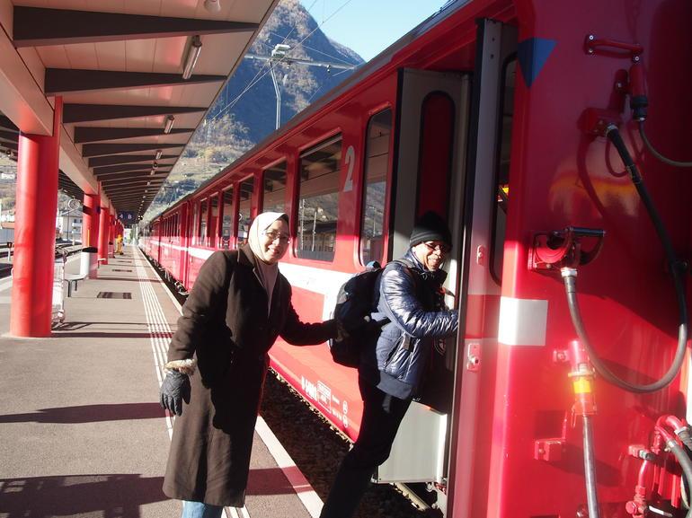 All aboard! - Milan