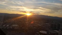Vegas Strip and Hoover Dam Twilight Helicopter Tour, Kelly - September 2016