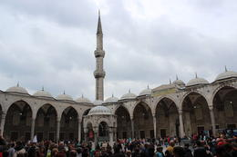 Sultan Ahmed Mosque (Blue Mosque) , Tiny Traveler - October 2013