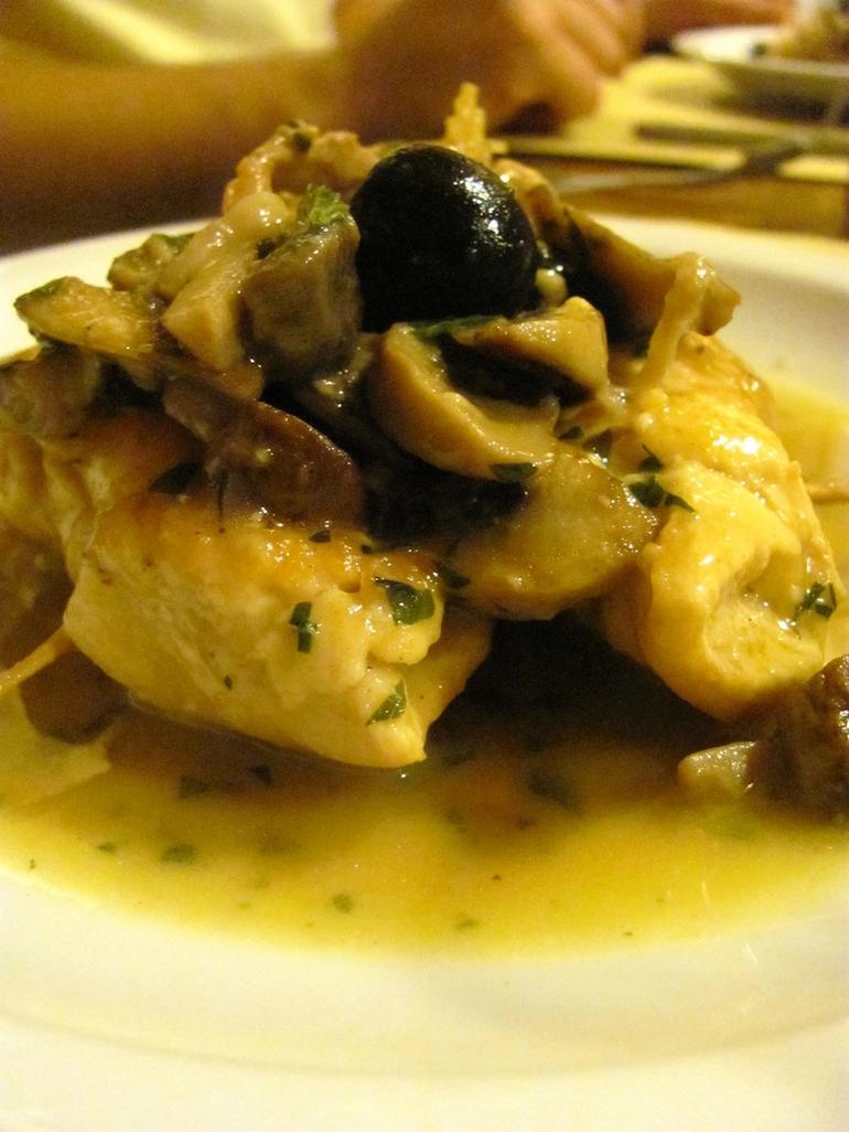 Chicken & Mushroom Rolls - Italy