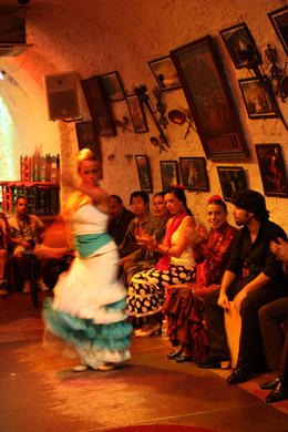 Granada Flamenco Show in Sacromonte, SCV - December 2012