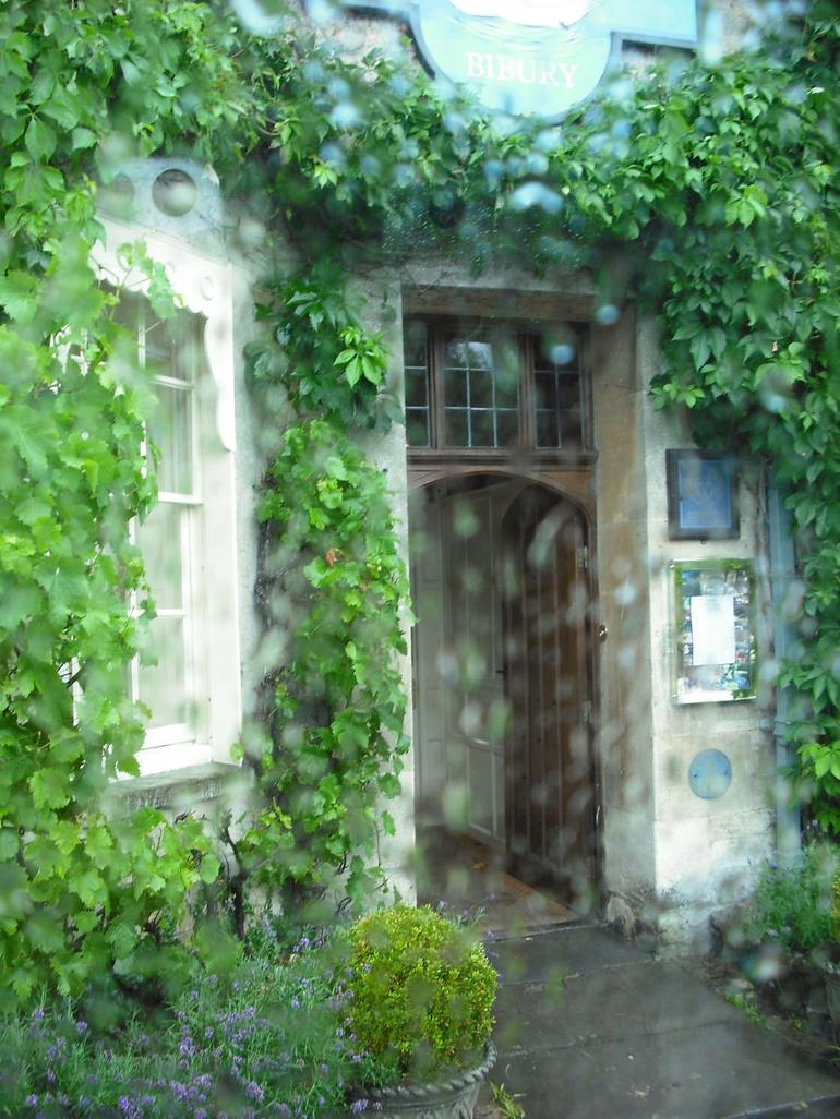 Greenery around the doorway - London
