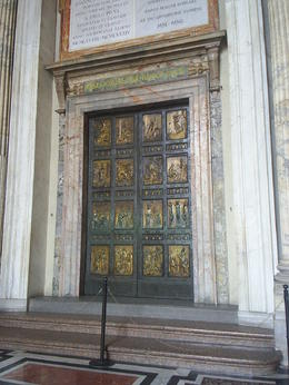 Nearing the end of the tour at St Peter's Basilica , moocake2121 - August 2014