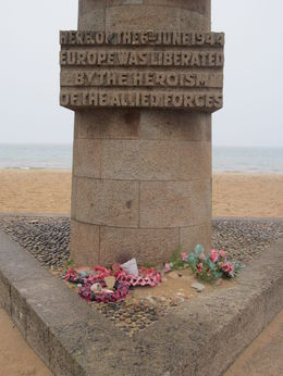 Memorial at Juno Beach , Kaylyn M - May 2016