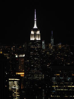 Empire State Building vanop Top of the Rock , Hans P - April 2014