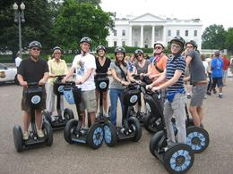 Okie Segway Tour 2010 in front of White House, Washington DC - June 2010
