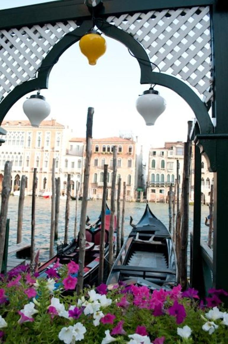 Our Gondola Awaits Us - Venice