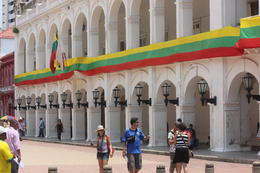 Inside one of the main plazas in Cartagena., Bandit - September 2012