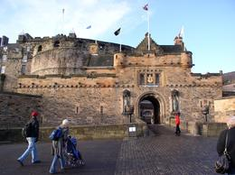 Edinburgh Castle in Edinburgh Scotland, Paul A - December 2009