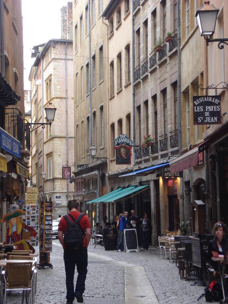 Streets of Vieux Lyon - Lyon