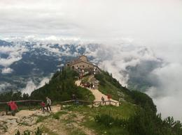view from the walk up to the mountain summit , Leayn D - August 2014
