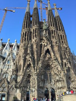 Scheduled for completion in 2026, 100 years after the death of A. Gaudi. , Patricia D - June 2015