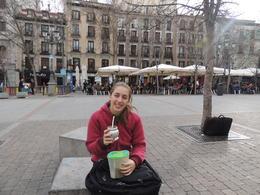 tomando mate Camila , marcelo r - February 2014