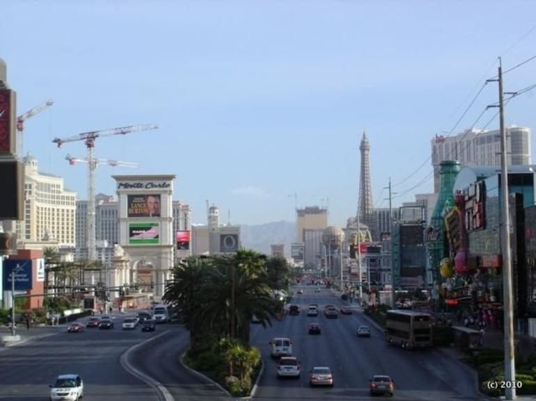 Vegas Strip during the Day - Las Vegas