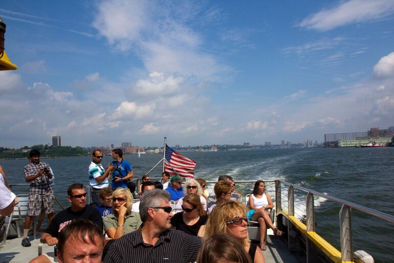Water taxi ride - New York City
