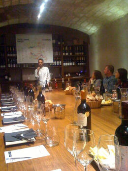 Great instructor explaining the different regions in France where wine is made., Bandit - August 2011