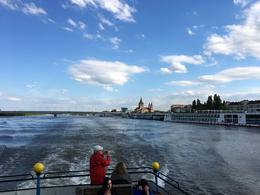 Looking back at start of the river boat tour , ekestler - May 2017