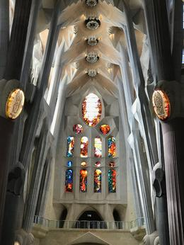 One Interior shot of Sagrada Familia. His use of light and form is beautifu , ralphdelia - October 2017