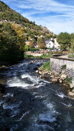 A little river in Ville d'Aux les Thermes , josefinaloo - November 2017