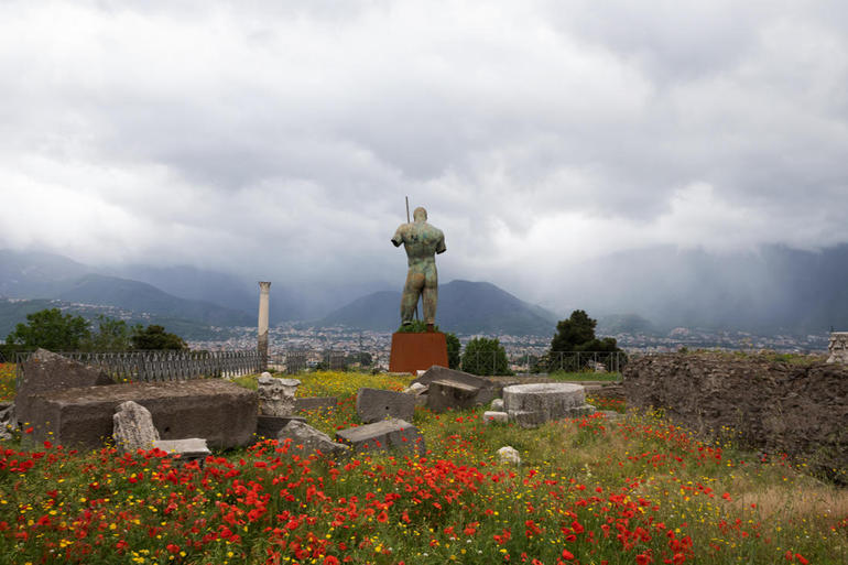 Pompeii Ruins & Mt Vesuvius Volcano with Lunch from Rome photo 30