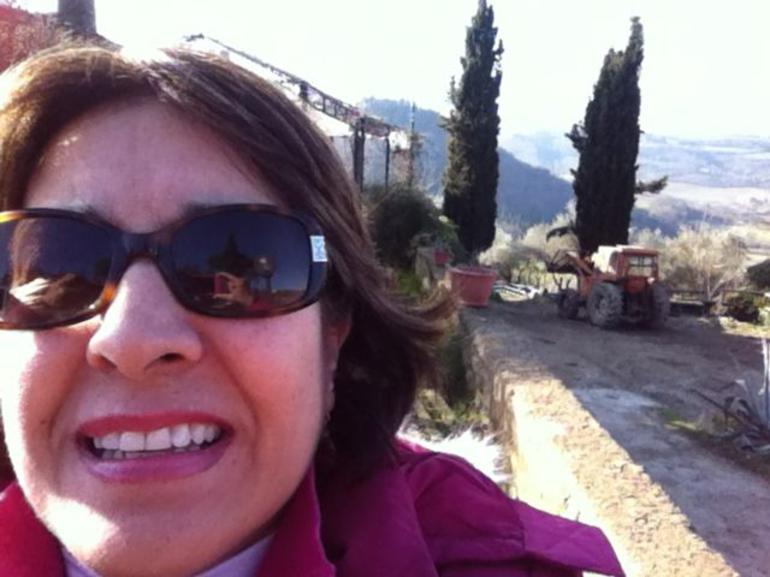 At the villa - Florence