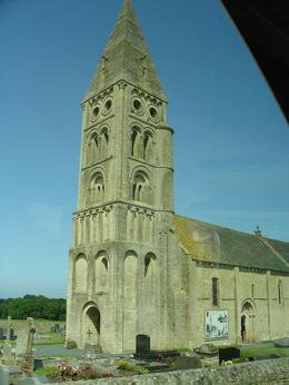 Old church on the drive to Normandy., Steve G - August 2009