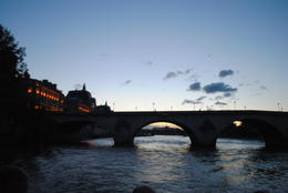 After dinner in Eiffel Tower, we went of an evening sunset cruise on Seine with Bateaux. , NZM - May 2012