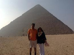 We visited Ghaza Pyramid , Nilofar M - October 2014