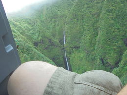 Jim. our pilot taking us by the hidden falls where Jurassic Park was filmed. , Steve C - August 2016