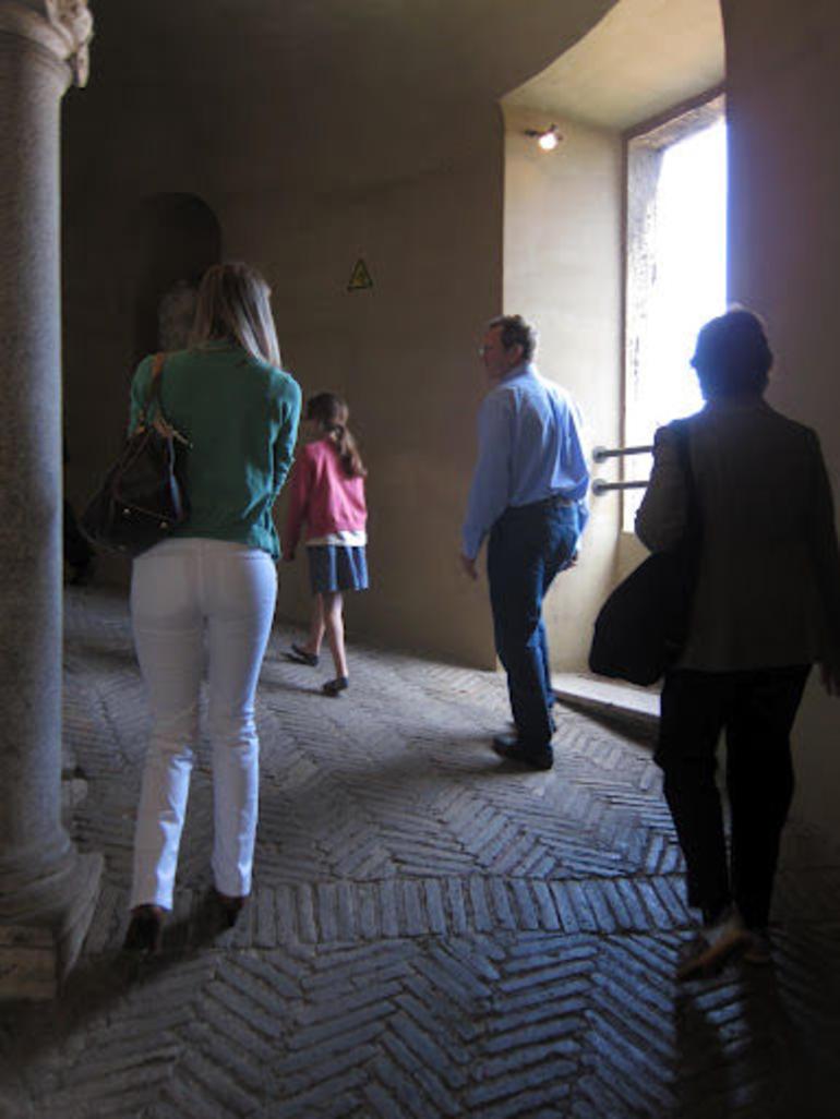 Secret parts of the Vatican - Rome