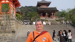 This is a picture of myself during a trip to Kyoto., VLADIMIR S - May 2010